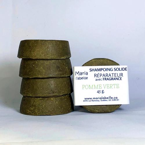Shampoing RÉPARATEUR avec fragrance « pomme verte »