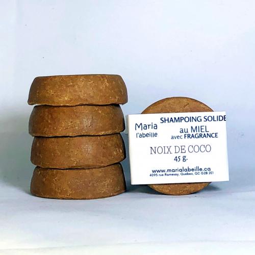 Shampoing au MIEL avec fragrance « noix de coco »