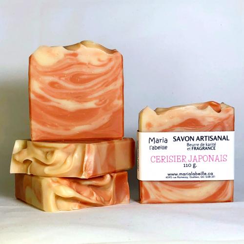 Savon fragrance CERISIER JAPONAIS