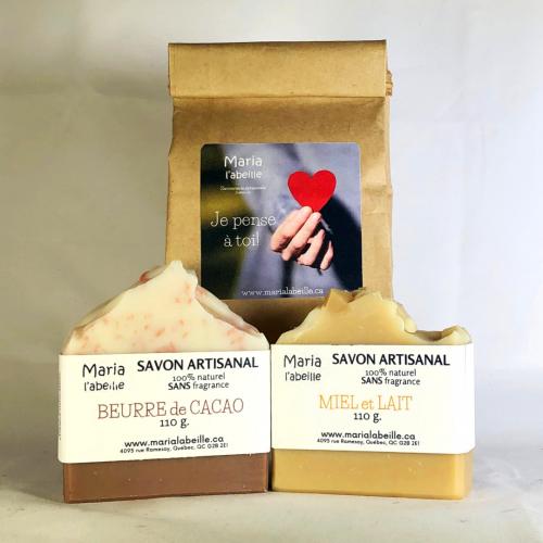 Duo de savons Sans Fragrance