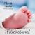 Félicitations - pied bébé